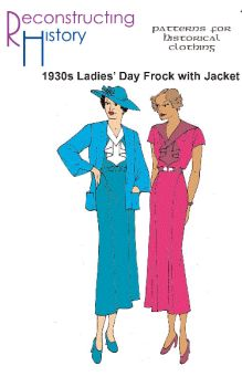 1930s Day Frock and Jacket Pattern