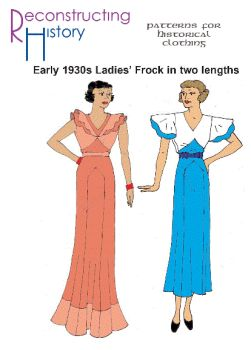 Early 1930s Day Frock Pattern