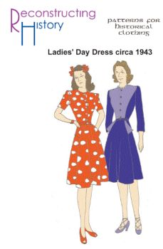 1943 Lady's Day Dress Pattern
