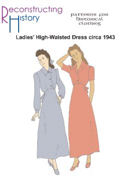 1943 Casual Dress Pattern