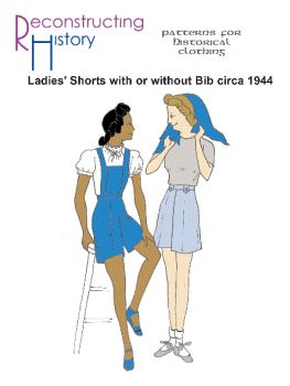 1944 Shorts With or Without Bib Pattern