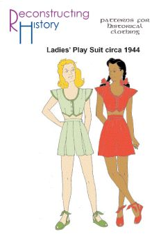 1944 Playsuit Pattern