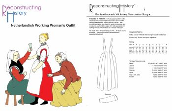 Netherlandish Working Women's Outfit Pattern