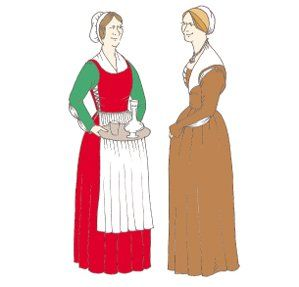 1470s-1500 Florentine Woman's Outfit Pattern