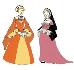 Tudor Lady's Gown & Kirtle Pattern