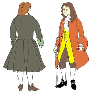 Patterns Of Time 1740s Frock Coat Pattern Colonial