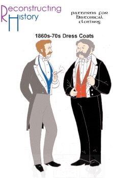 1860's to 1870's Dress Coat Pattern