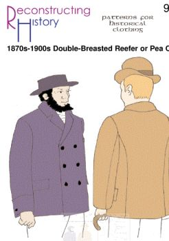 1870s-1900s Double-Breasted Reefer Pattern