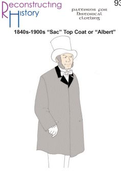 1840s-1900s Sac Topcoat Pattern