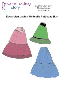 Edwardian Umbrella Petticoat Pattern