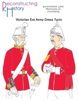 Victorian Men's British Army Tunic Pattern