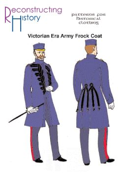 Victorian Men's British Army Frock Coat Pattern