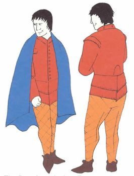 The Dungiven Outfit - 16th Century Anglo-Irish Doublet and Hosen Combination Pattern