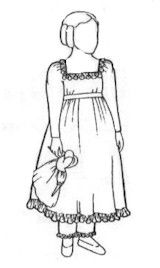 Dress With Pantalets Pattern