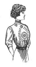 1911 Lady's Embroidered Waist Pattern