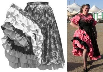 1840 - 1890's Can-Can Skirt Pattern