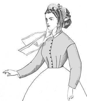1860s Darted Bodice Pattern