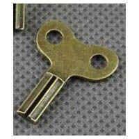 Metal Steampunk Mini Key in Vintage Bronze Finish
