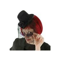 Little Victorian Top Hat - Black Trim by Elope