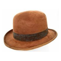 Steampunk Brown Bowler Hat