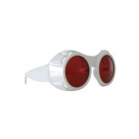 Hyper Vision Goggles - White with Red Lenses by elope.
