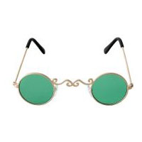 Pot of Gold Glasses - Gold/Green