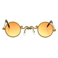 Pot of Gold Glasses - Gold Rims with Yellow Lenses