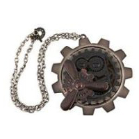 Steampunk Large Gear Propeller Pendant