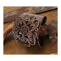Steampunk Bracelet Antique Copper Finish