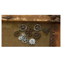 Bag of Gears - Costume Embellishment