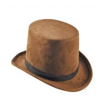 Coachman Hat - Brown Suede
