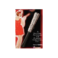 1920s Vintage Hollywood Elegant Sparkling Cigarette Holder