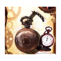 Steampunk Victorian Pocket Watch - Costume Prop