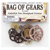 Bag of Gears � Costume Decoration Accessory