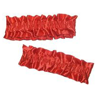 Old Fashioned Armband/Garter - Red