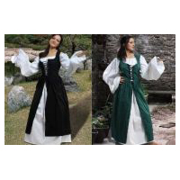 Ameline Peasant Irish Dress