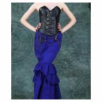 Vanessa Fitted Steampunk Victorian Skirt