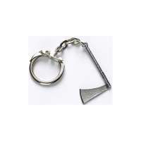 Medieval Axe Key Ring - Pewter