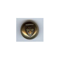 "Coat of Arms Button 3/4"" (20mm)"
