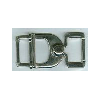Dull Nickle  Finish Belt Buckle Cloak - Cape Clasp