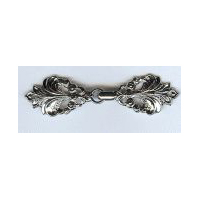 Graceful Fleur De Lis in Nickel Finish