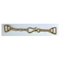 Shiny Gold Finish Chain and Hook Clasp