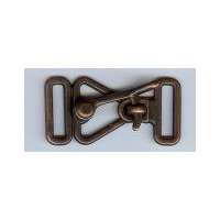 Over Latch Clasp - Antique Copper Finish