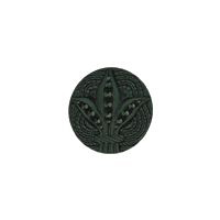 Ebony Button 1 1/8""