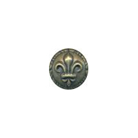 Ancient Rome Button - Metal Button with Antique Brass Finish- 7/8""