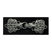 Alpine Clasp, Antique silver