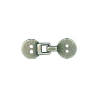 Istanbul Clasp Antique Silver Finish