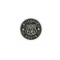 Large Route 66 Button