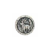 Large Antlers Button
