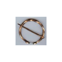 Rough Copper Penannular